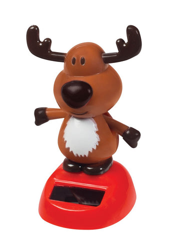 Dancing Dudley Solar Christmas Reindeer by Toysmith
