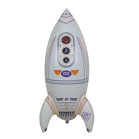 Inflatable Glow in the Dark Giant Rocket - 30 Inch Tall Rocket