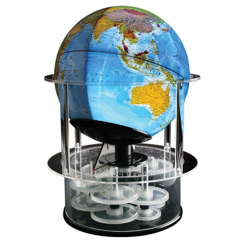 Day N' Night - The Real Solar Time Rotating Globe