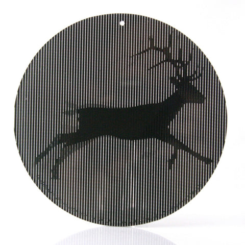 Deer - Medium 5.5 Inch CineSpinner - Animated Suncatcher
