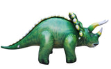 Inflatable Triceratops Dinosaur Model - 43 Inch Dino Figure