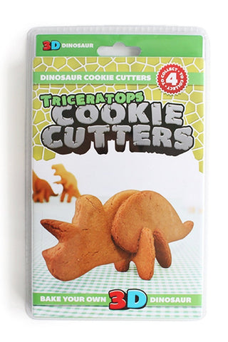 3D Bake Your Own Triceratops Dinosaur Cookie Cutter