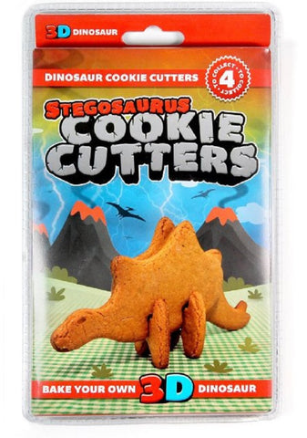 3D Bake Your Own Stegosaurus Dinosaur Cookie Cutter