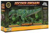 "9.5"" Long Tyrannosaurus Rex Dinosaur Action Figure w/Activity Book, by Dr. Cool"