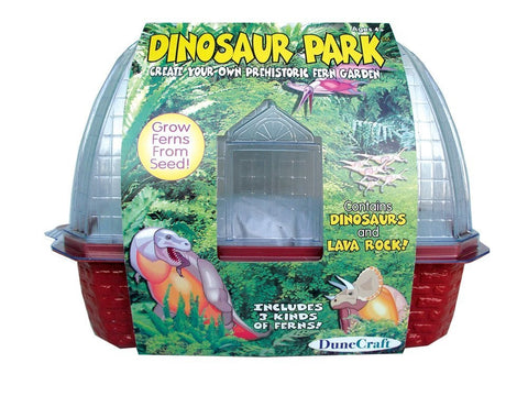 Dinosaur Park Windowsill Greenhouse Kit w/Seeds