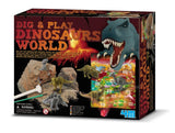 Dig-And-Play Dinosaur World Kit Game Toy by 4M