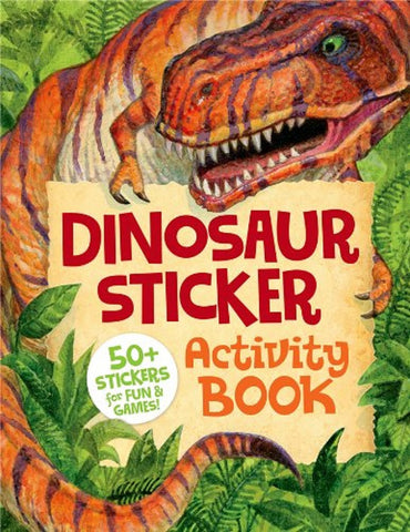Dinosaur Sticker Activity Book by Peaceable Kingdom