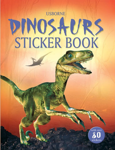 Dinosaurs Sticker Book by Usborne