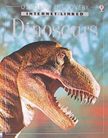 Usborne Internet Linked Book on DINOSAURS w photos Over 50%OFF
