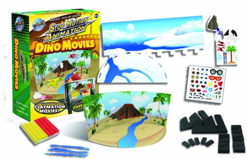 Wild Science Make Your Own Stop Animation Dino Movies Kit