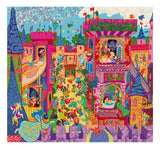54 pc. Silhouette Jigsaw Puzzle - The Fairy Castle - by Djeco