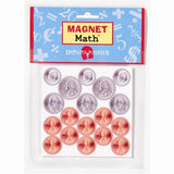 Magnet Math - 72 Assorted Magnetic US Coin Replicas