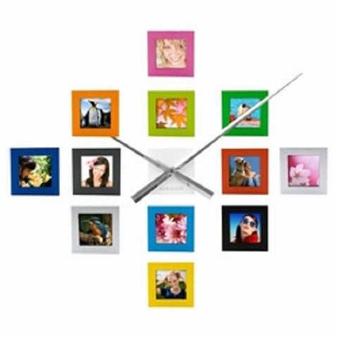 Do it yourself picture frame wall clock online science mall diy picture frame wall clock do it yourself by karlsson solutioingenieria Gallery