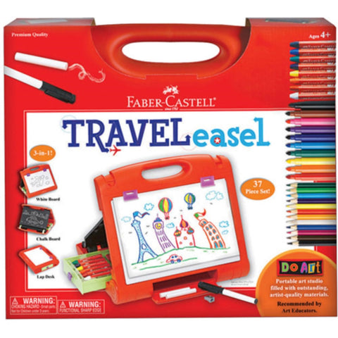 Do Art Travel Easel  37 Piece Set -by Faber Castell