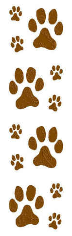 Mrs Grossman's Stickers - Puppy Dog Paw Prints