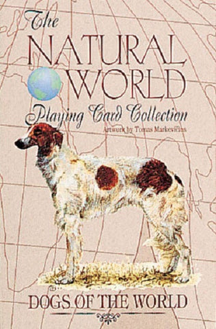 DOGS of the Natural World Art Playing Cards