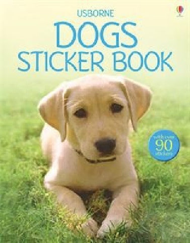 Dogs Sticker Book Usborne New Over 90 Large Stickers