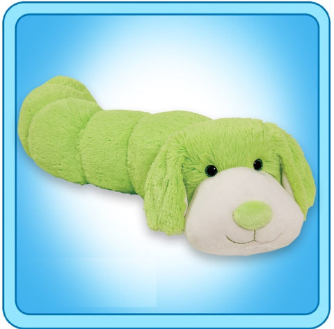 Neon Squiggly Dog BodyPillar by Pillow Pets