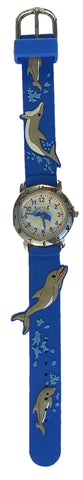 The Kids Watch Company Dolphin Watch One Size Blue Band