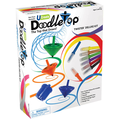 Doodletop Twister Deluxe Kit Writing Pen and Top Toy