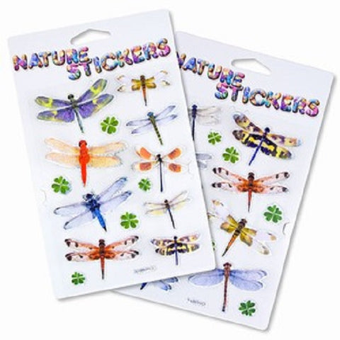 Sierra Dragonfly 3D Nature Stickers Assortment Pack of 2