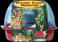 Pitcher Plant Predators Windowsill Greenhouse Kit w/ Carnivorous Plant Seeds