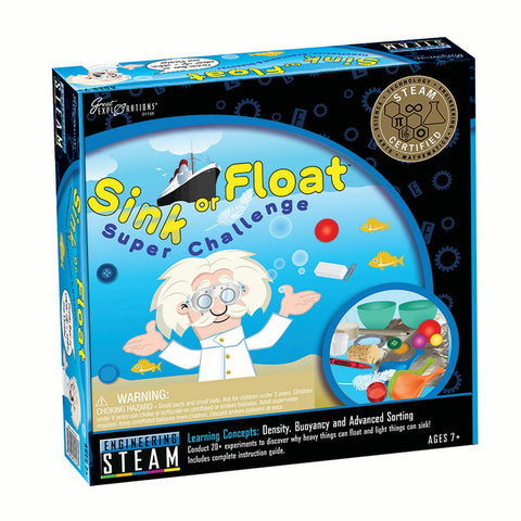 Great Explorations STEAM Sink or Float Super Challenge