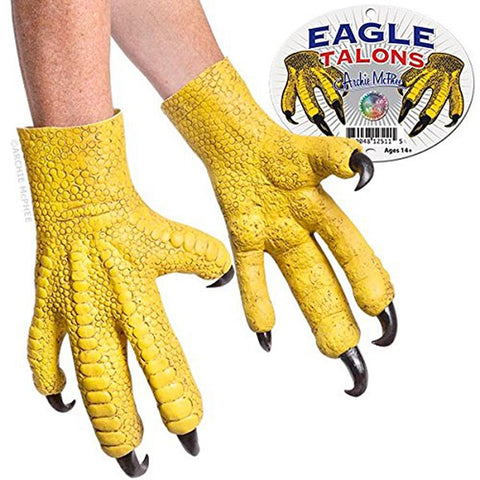 Set of 2 Latex Eagle Talons, by Accoutrements