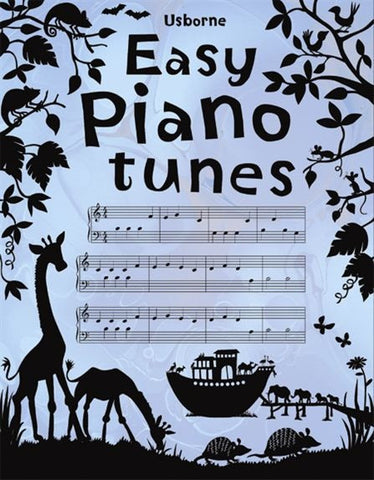 Usborne Book of Easy Piano Tunes Internet Referenced
