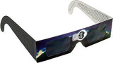 3D Holographic Fireworks Glasses Original Laser Viewers Pack of 10