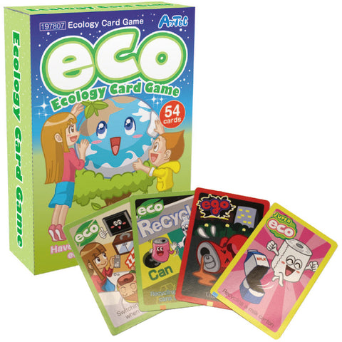 ECO Ecology Card Game Playing Cards By Artec