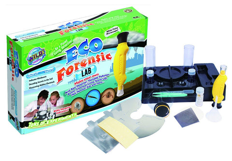Wild Science Eco Forensic Lab - Environmental Science Experiment Kit