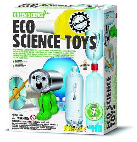 4M Eco Science Toys Kit Set Green Science