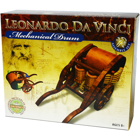 Leonardo da Vinci's Mechanical Drum Model Kit