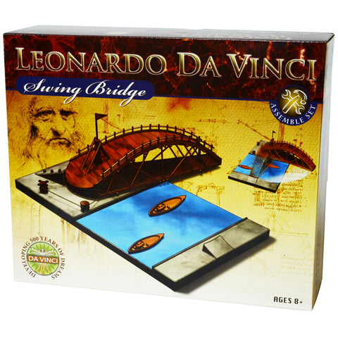 Leonardo da Vinci's Swinging Bridge Model Kit