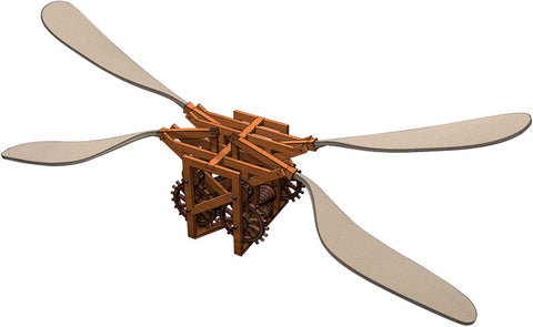 Leonardo da Vinci's Mechanical Butterfly Model Kit