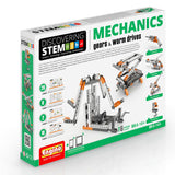 Engino Discovering STEM Mechanics Gears & Worm Drives Building Kit