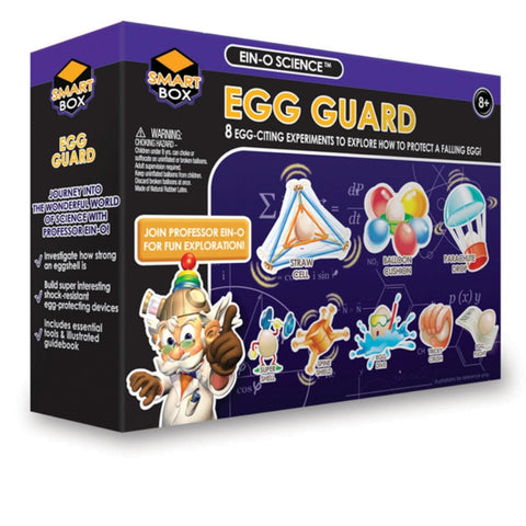 EIN-O's Smart Box: Egg Guard Science Experiments:
