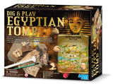 Dig-And-Play Egyptian Tomb Kit Toy Game 4M