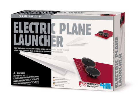 Electric Paper Plane Launcher Educational Aid by 4M