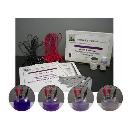 Electrochemical Remediation of Wastewater Classroom Kit - A Green Science Kit