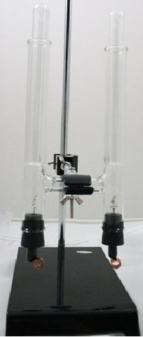 Electrolysis Unit with Graduated Collection Tubes and Platinum Electrodes