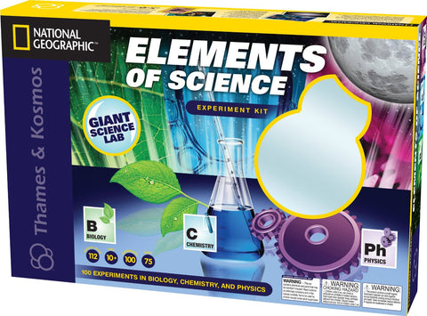 National Geographic Elements of Science Experiment Kit By Thames & Kosmos