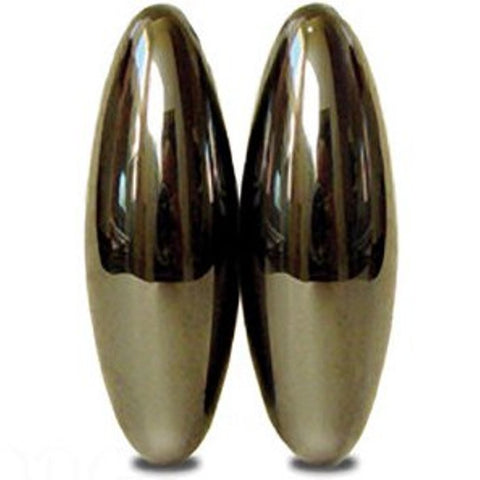 One Pair Large Magnet Ellipsoids - Buzz Magnets -  w Bag