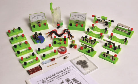 Electricity and Magnetism Experiment & Demonstration Kit