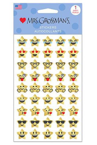 Mrs. Grossman's Stickers Gold Star Emotions