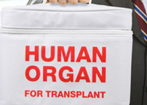 EMT - Human Organ For Transplant - Insulated Lunch Box