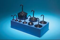 Hooked Weight Mass Set Black Enamel-Set of 9