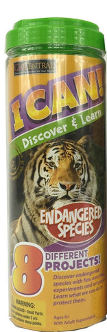 I Can Discover & Learn Kit Endangered Species w 8 Projects