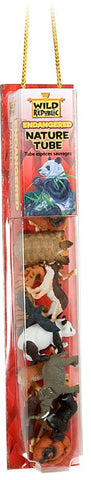 18 Piece Endangered Animal Nature Tube w/Play Mat by Wild Republic - Online Science Mall